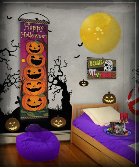 Halloween Pynt & Halloween Dekoration