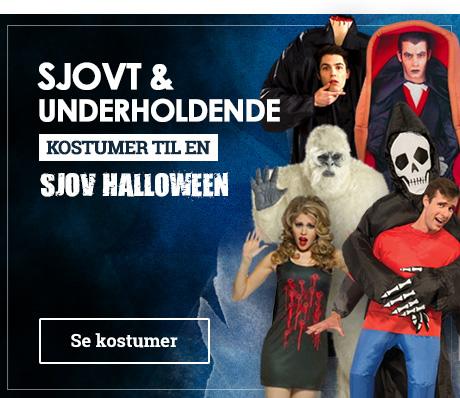 Originale & sjove halloween kostumer