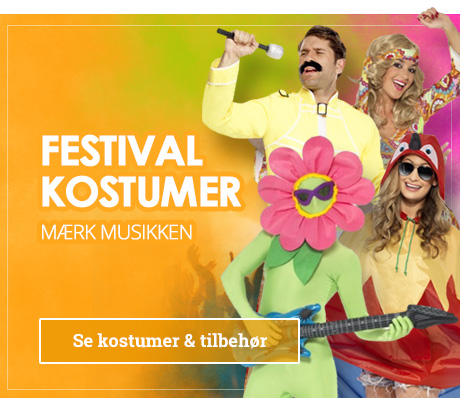 Kostumer til festival
